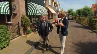 Piet Veerman, van de Cats , in gesprek met