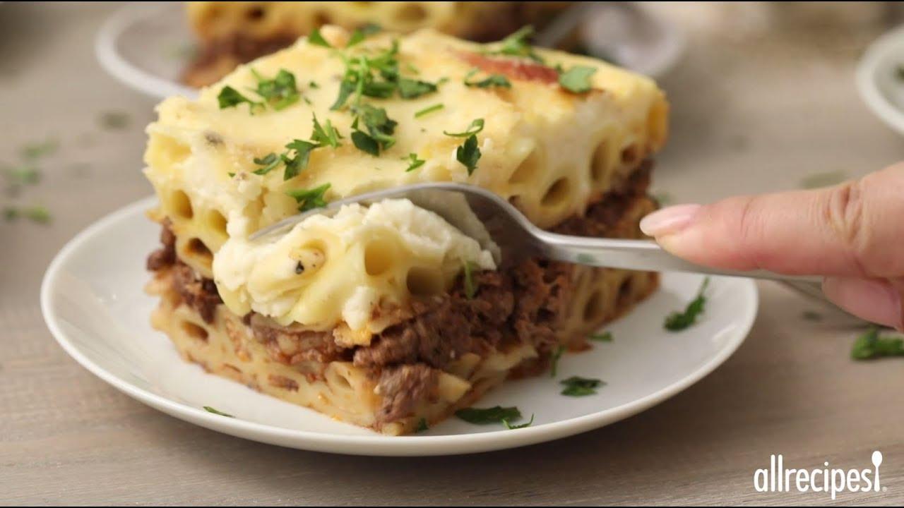 How to Make Pastitsio | Greek Recipes | Allrecipes.com - YouTube