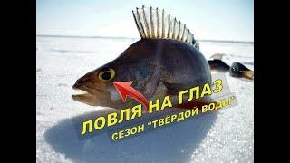 Рыбалка на вырванный глаз Мой первый лёд 2020. КРУПНЯК. Спасение Субаря. Нива провалилась в наледь
