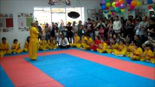 American ShaoLin KungFu Master Shi Yan Feng