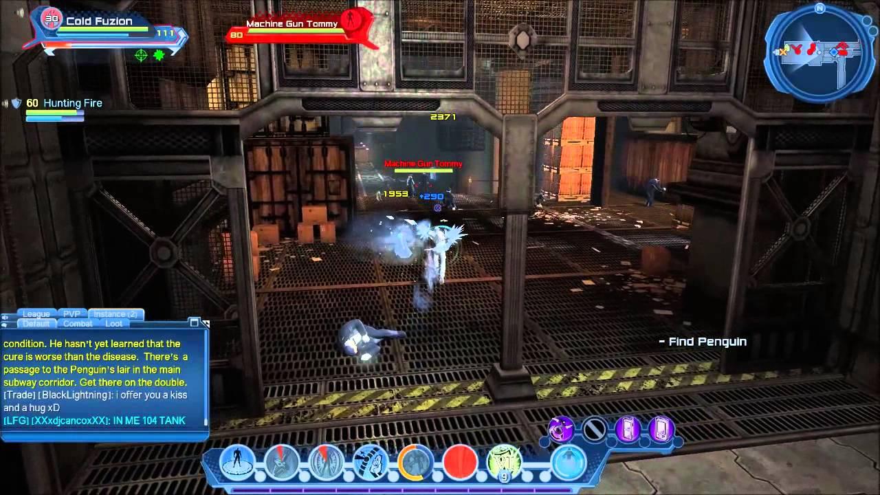 DCUO - Cross Platform Gaming PC and PS - Inertia