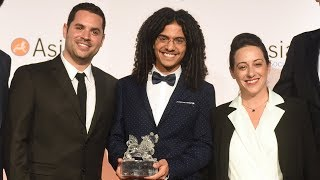 Baixar The Founders of Israel's Musical Sensation Koolulam Accept Asia Game Changer Award