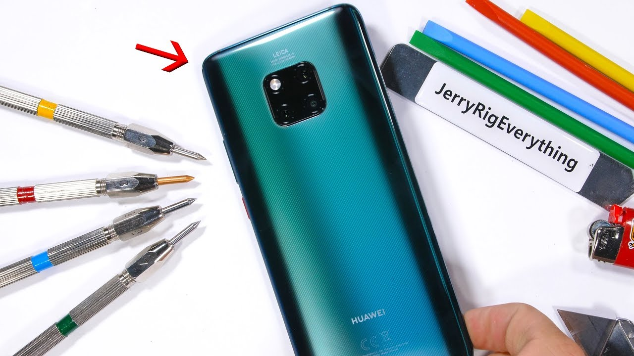 mate 20 pro durability test the back is different. Black Bedroom Furniture Sets. Home Design Ideas