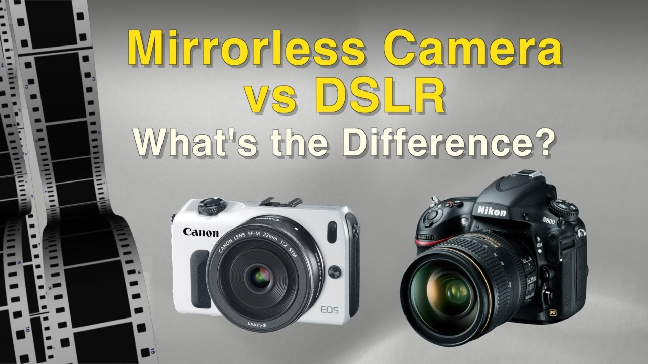 Camera Dslr Meaning Camera mirrorless camera vs dslr youtube