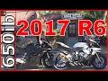 2017 Yamaha R6 vs Honda CBR 600RR   On the SNaKE!