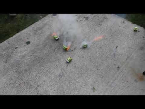 Tank WarFare! Playing with Explosives lol