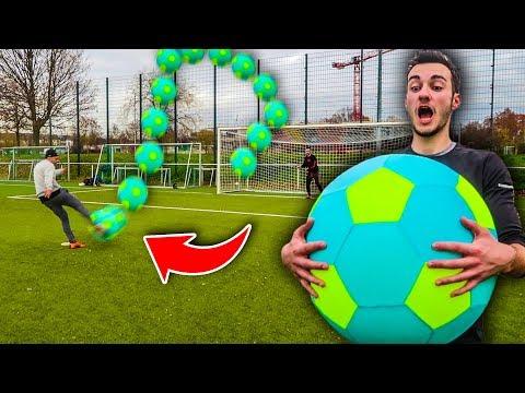 DIESER XXL FUßBALL IST KRANK! FUßBALL CHALLENGE