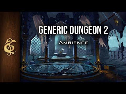 🎧 RPG / D&D Ambience - Generic Dungeon II | Eerie, Sinister, Dark