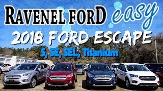 🔵New 2018 Ford Escape - In Depth Review | S, SE, SEL & Titanium - Options, Price & Engine Specs