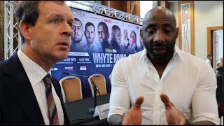 'I DONT KNOW WHAT YOU'RE TALKING ABOUT' -ADAM SMITH ARGUES, & BAFFLED BY NELSON COMMENTS ON AJ-RUIZ
