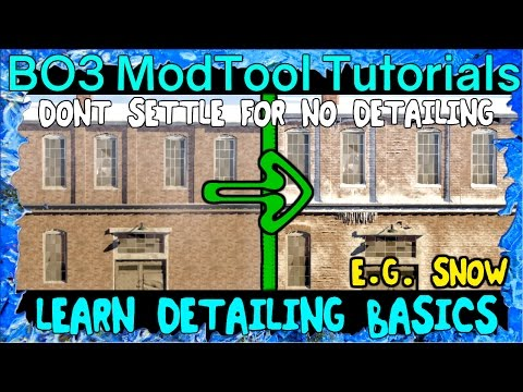 LEARN DETAILING BASICS CUSTOM ZOMBIES MAPPING BLACK OPS 3 MOD TOOLS