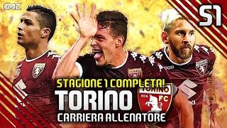TUTTA LA CARRIERA ALLENATORE IN UN UNICO VIDEO! | TORINO FC STAGIONE 2016/17 | FIFA 17 ITA
