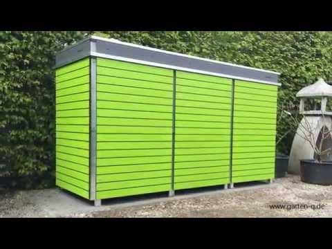 Moderne Mülltonnenboxen Mit Pfiff Youtube