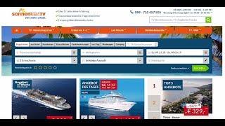 Tutorial: online Angebot suchen und buchen bei sonnenklar.TV
