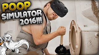 "Pipe Job VR Gameplay - ""WHAT A CRAPPY GAME LOL!!!"" - Let"