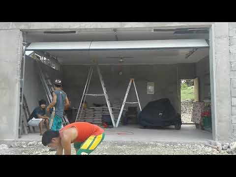 Automatic garage door @BOHOL @MR. BROWN RESIDENCE by: AEM DOOR AUTOMATION ACCESS SYSTEM &SERVICES