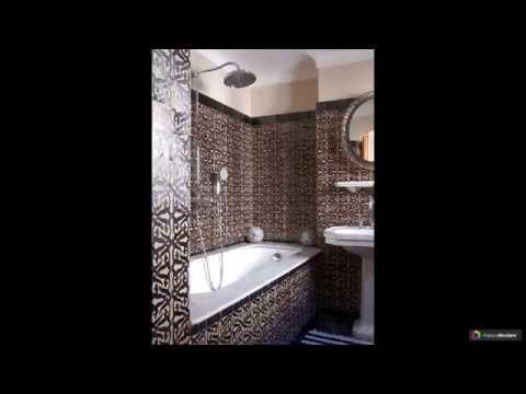 Отделка ванной комнаты плиткой 52 варианта