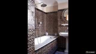 видео Плитка для отделки ванной комнаты: варианты дизайна облицовки кафелем и фото