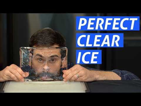 wine article Advanced Techniques How To Make Clear Ice