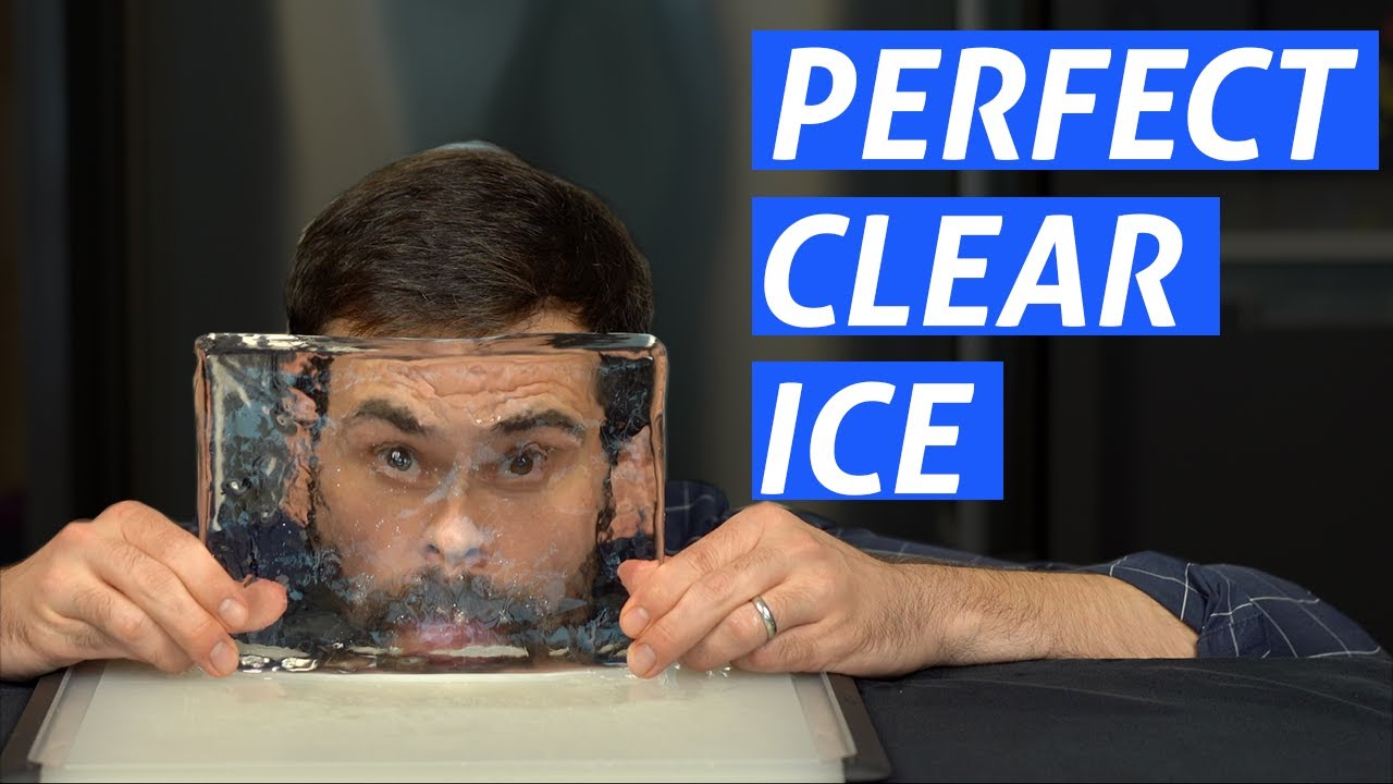 Advanced Techniques How To Make Clear Ice Youtube