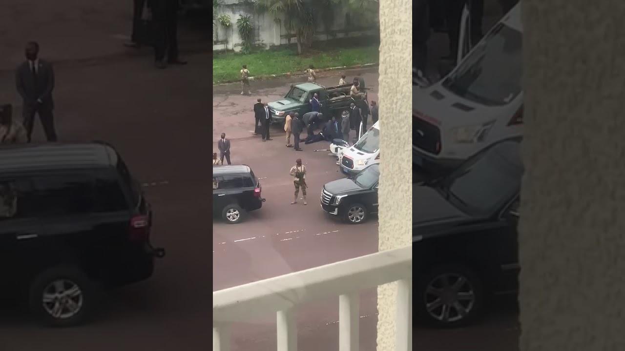 URGENT: ACCIDENT DU CORTEGE DE FATSHI. UN GARDE DU CORPS GRAVEMENT BLESSE