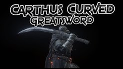 Dark Souls 3: Carthus Curved Greatsword (Weapons Showcase Ep.28)