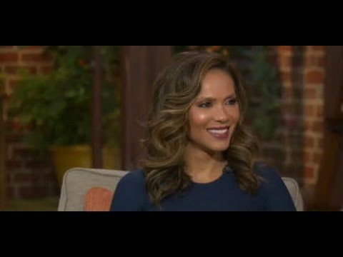 Actress Lesley Ann Brandt from the  'Lucifer'