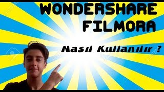 Wondershare Filmora nasıl kullanılır #1 efectleri kullanma yazı ekleme müzik ekleme