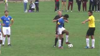soccer match at sikh games in australia 2013 part 3