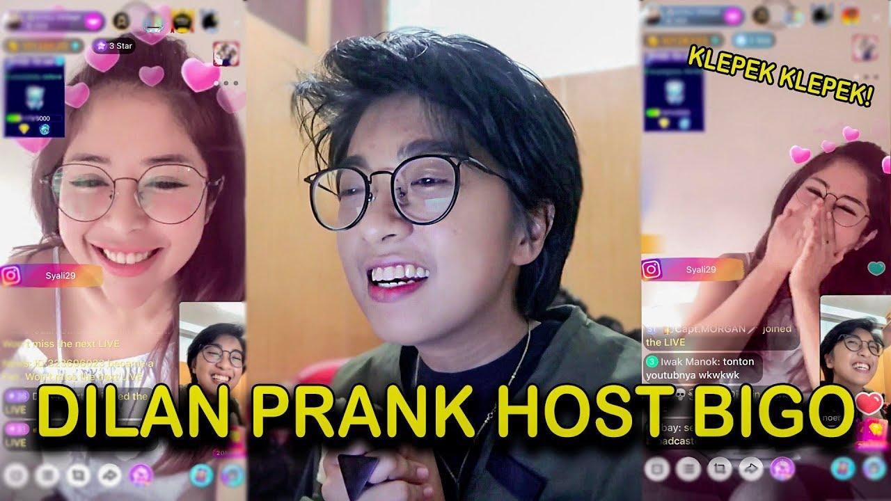 Download DILAN PRANK HOST BIGO..... akhirnya menyesal !