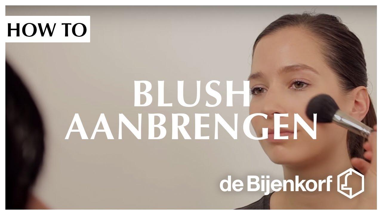 blush aanbrengen