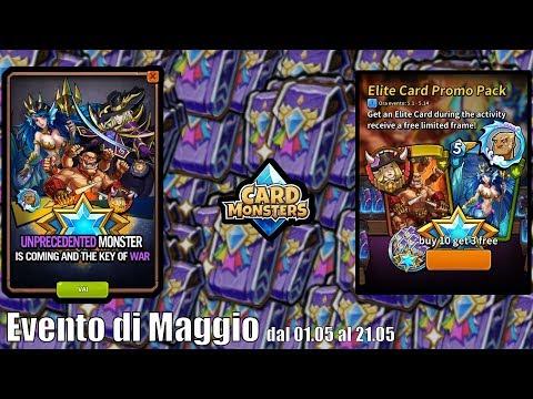 Card Monsters - Nuovo Evento Carta ELITE