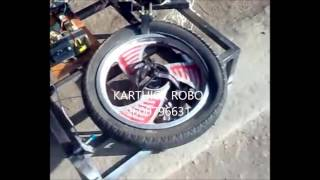 tyre tire changing machine mechanical engineering project topics