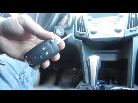 How to Program Replacement Laser Cut Key FOB For 2010 2011 - 2015 Chevy Equinox Camaro Cruz Sonic GM