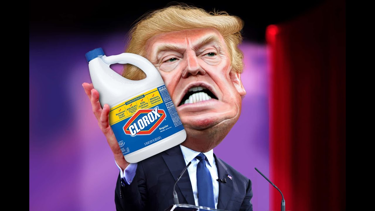 THE ANSWER TO TRUMP'S PROBLEMS ''BLEACH''