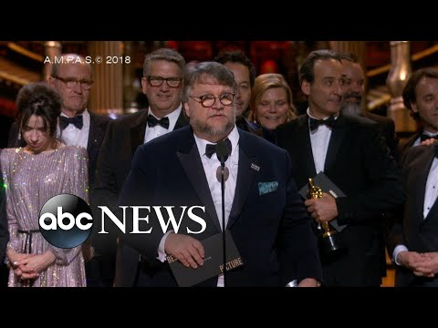 'Shape of Water' wins big at 2018 Oscars