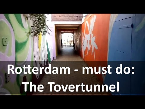 Magic! visiting Rotterdam : the Tovertunnel