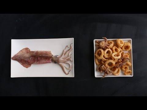 How to Prepare Squid for Crispy Fried Calamari - Kitchen Conundrums with Thomas Joseph