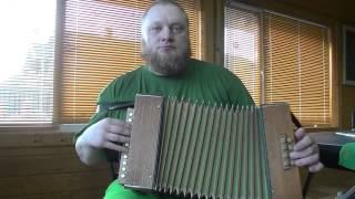 Диатоническая гармонь Hohner. Diatonic accordeon hohner. Old antiques harmonica.