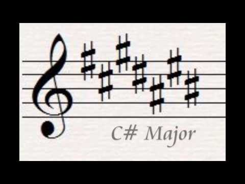 Key Signature Flash Cards-Major Keys