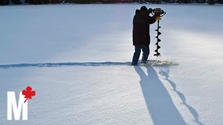 What it feels like to ice fish in the Yukon