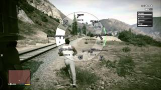 Grand Theft Auto 5: Dump Truck Glitch with Cop Chase