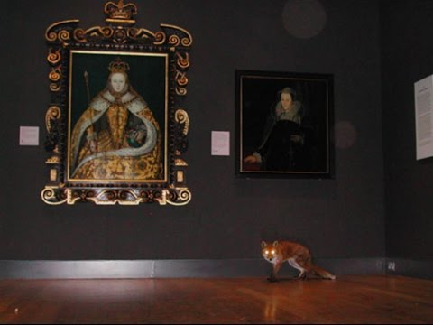 Mr. Fox in the National Portrait Gallery