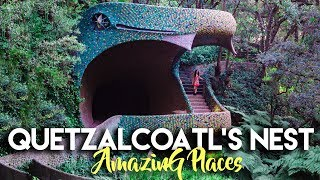 FASCINATING SNAKE HOUSE IN MEXICO CITY | QUETZALCOATL