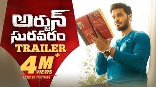 Arjun Suravaram Trailer - Nikhil Siddhartha, Lavanya Tripati | T Santhosh | Sam C S