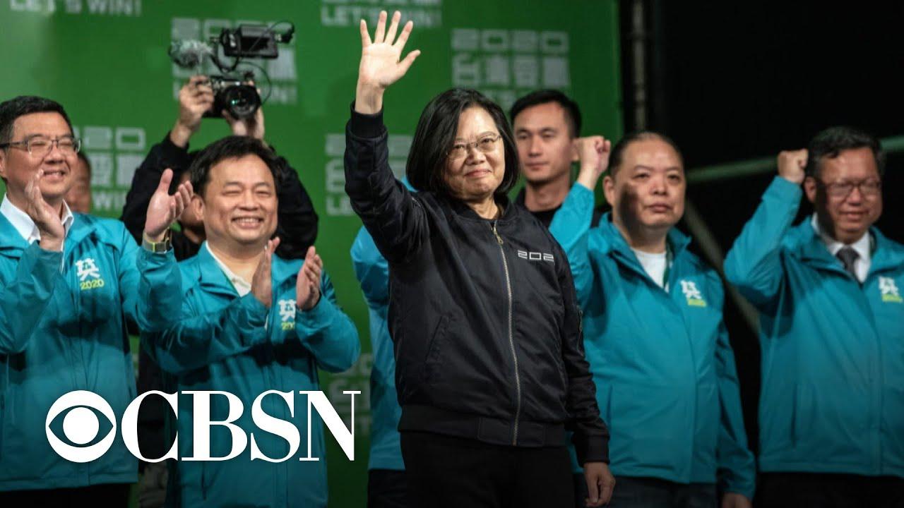 Download Tsai Ing-wen sweeps election in Taiwan