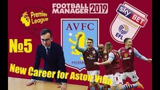 Football Manager 2019 - Карьера за Астон Виллу - #5 [ В лидерах ]