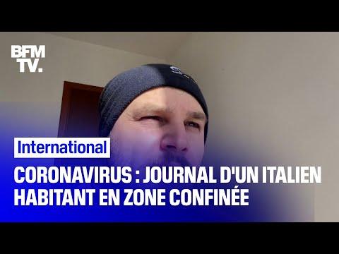 Coronavirus en Italie: il raconte le quotidien dans une ville en quarantaine