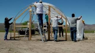 Hoop House Build 2017 May