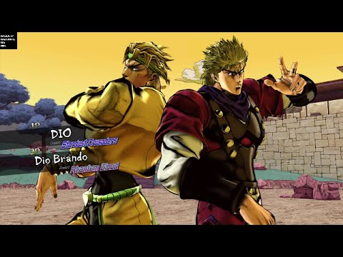 JoJo's Bizarre Adventure: Eyes of Heaven - All Unique Team Intros (NA Version)